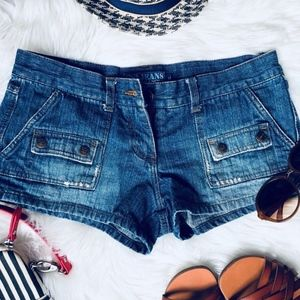 TerraNova Blue Denim Shorts Size Medium